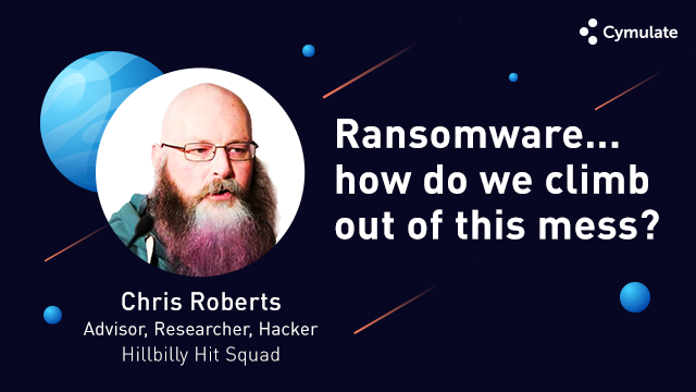 Ransomware, how do we climb out of this mess?