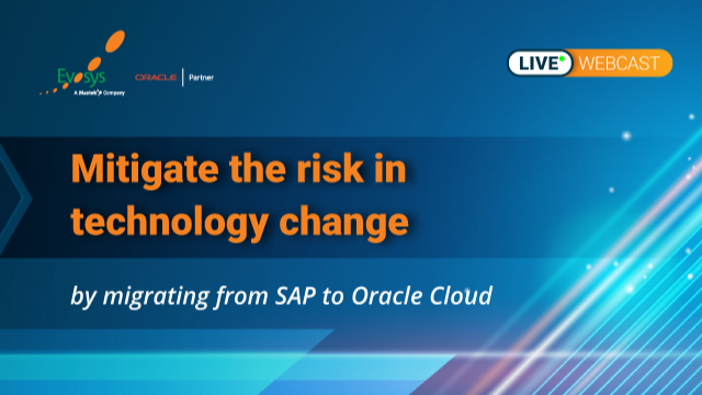 Migrate to market disruptive Oracle Cloud with value added technology today