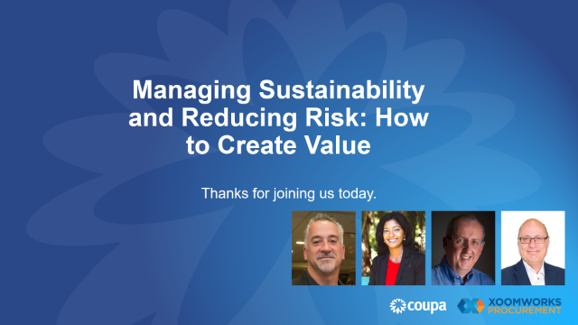 Best practices for growing sustainability & reducing risk in the supply chain