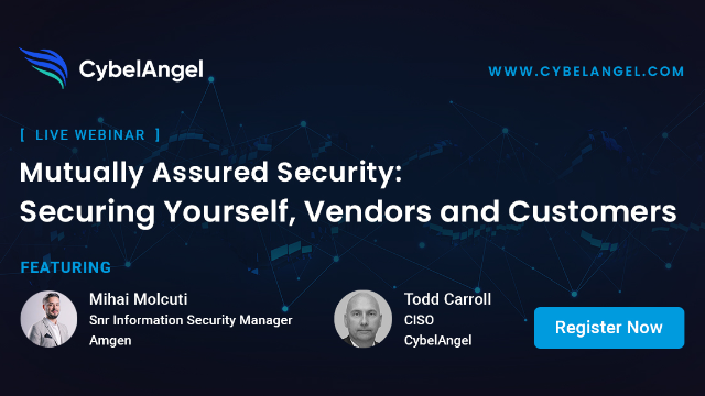 Mutually Assured Security: Securing yourself, Vendors and Customers like Amgen