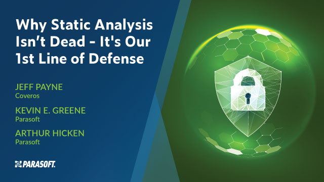 Why Static Analysis Isn't Dead: It's Our 1st Line of Defense