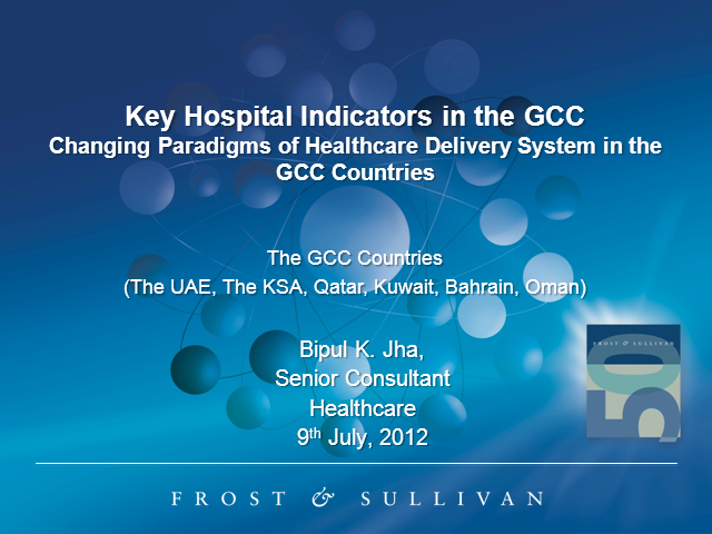 Key Hospital Indicators in the GCC