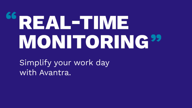 Real-time monitoring with Avantra