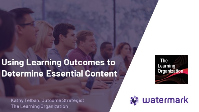 Using Learning Outcomes to Determine Essential Content