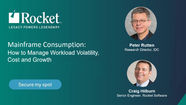 Mainframe Consumption: How to Manage Workload Volatility, Cost and Growth