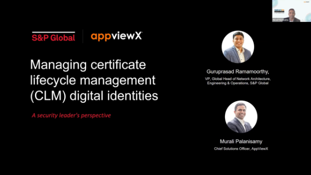 Managing Certificate Lifecycle Management (CLM) Digital Identities