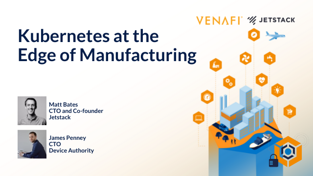 Kubernetes at the Edge of Manufacturing