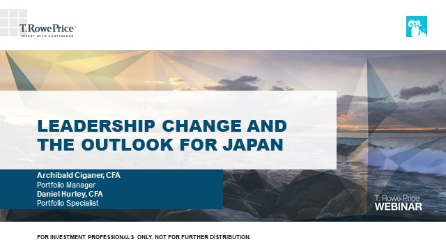 Leadership change and the outlook for Japan