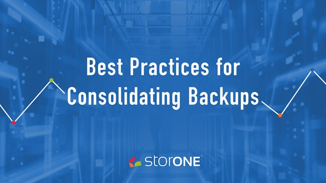 Best Practices for Consolidating Backups