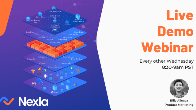 Build Dataflows in Minutes with Nexla, the Unified Data Operations Platform