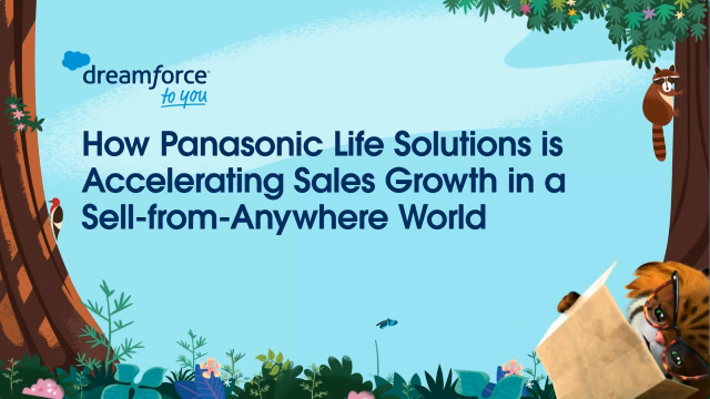 How Panasonic Life Solutions is Accelerating Sales Growth