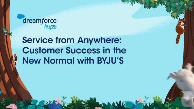 Service from Anywhere: Customer Success in the New Normal with BYJU'S