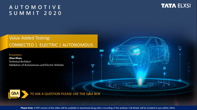 Validation of Autonomous, Connected & Electric Vehicles