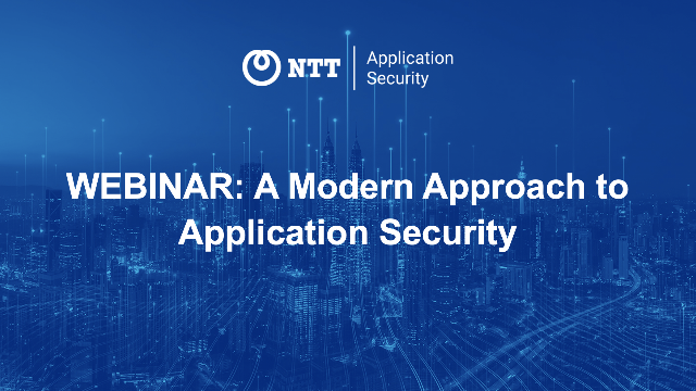 A Modern Approach to Application Security