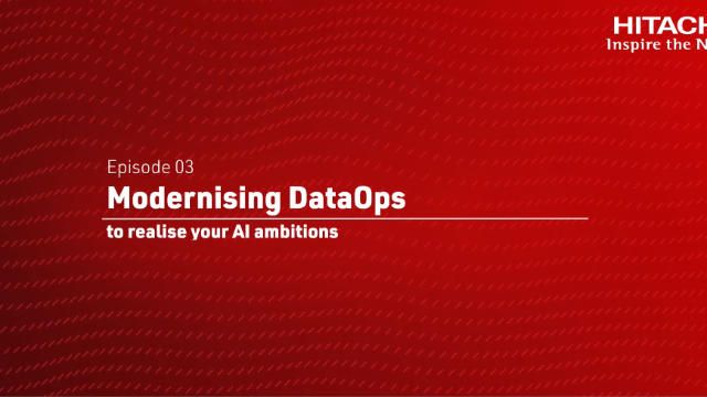 Modernising DataOps to realise your AI ambitions