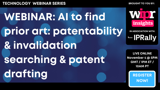 AI to find prior art: patentability & invalidation searching & patent drafting
