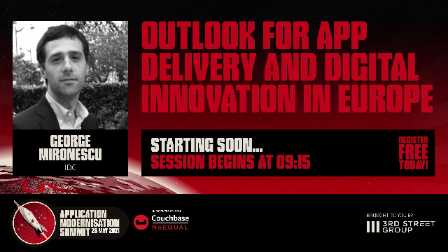 IDC - Outlook for App Delivery and Digital Innovation in Europe