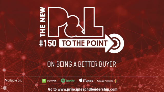 The New P&L TO THE POINT on Being a Better Buyer