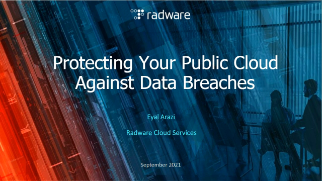 Protecting Your Public Cloud Against Data Breaches
