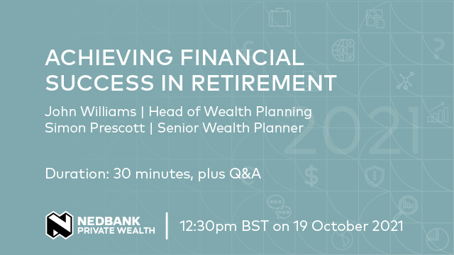 Achieving financial success in retirement