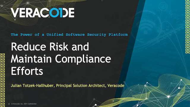 Reduce Risk and Maintain Compliance Efforts