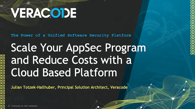 Scale Your AppSec Program and Reduce Costs With a Cloud-Based Platform