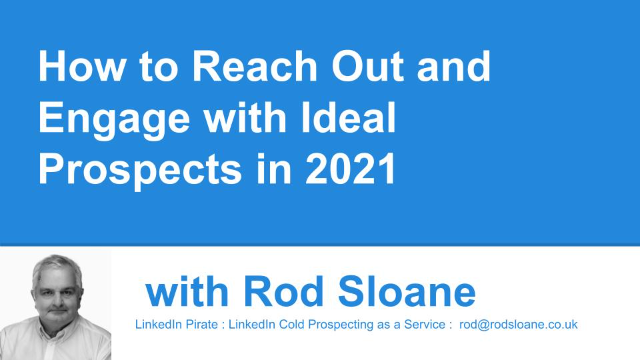 How to Reach Out and Engage with Ideal Prospects in 2021