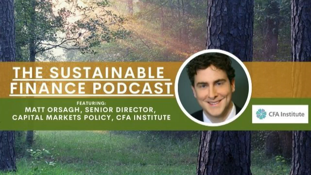 EP 124: Why the CFA Institute Is Incorporating ESG, AI and Machine Learning