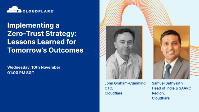 Implementing a Zero-Trust Strategy: Lessons Learned for Tomorrow's Outcomes