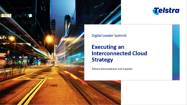Executing an Interconnected Cloud Strategy