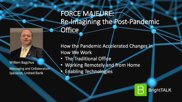 Force Majeure: Re-Imagining the Post-Pandemic Office
