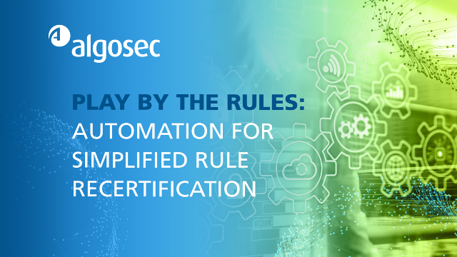 Play by the Rules: Automation for Simplified Rule Recertification