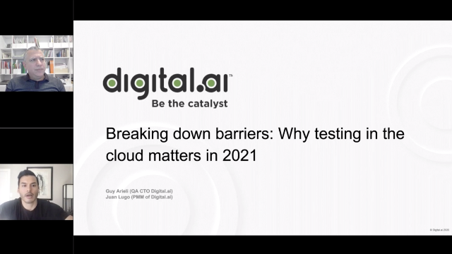 Breaking down barriers: Why testing in the cloud matters in 2021