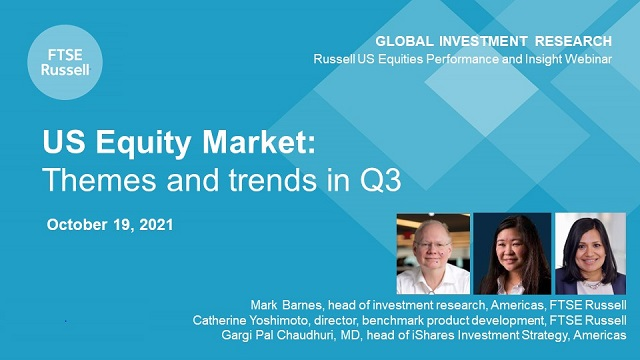 US equities: We analyse Q3, to give you insights for Q4. iShares & FTSE Russell