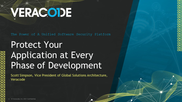 Protect Your Application at Every Phase of Development