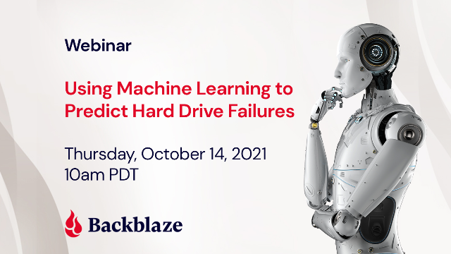 Using Machine Learning to Predict Hard Drive Failures