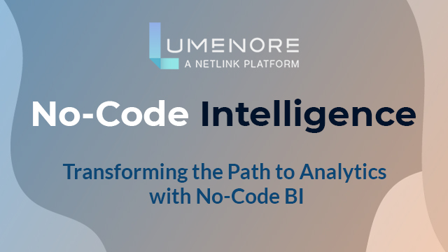 Getting More from Your Enterprise Data without a Line of Code