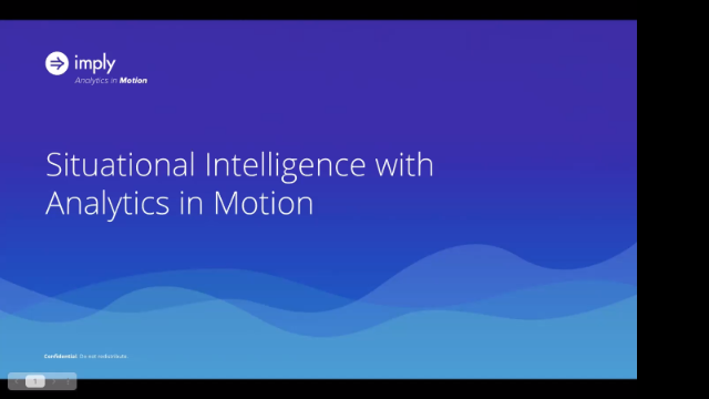Demo on Demand: Situational Intelligence with Analytics in Motion