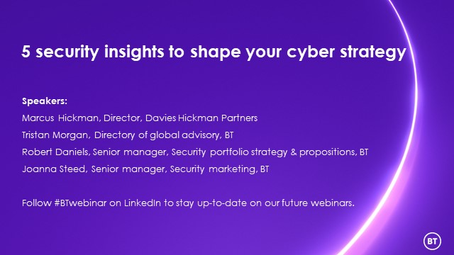 5 security insights to shape your cyber strategy