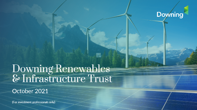 Downing Renewables & Infrastructure Trust: Presentation with the Managers