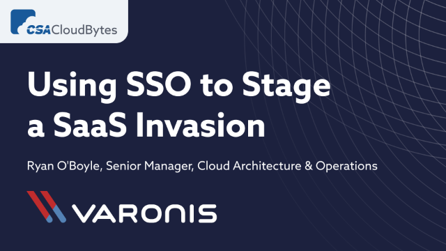 Cloud Imposter: Using SSO to Stage a SaaS Invasion