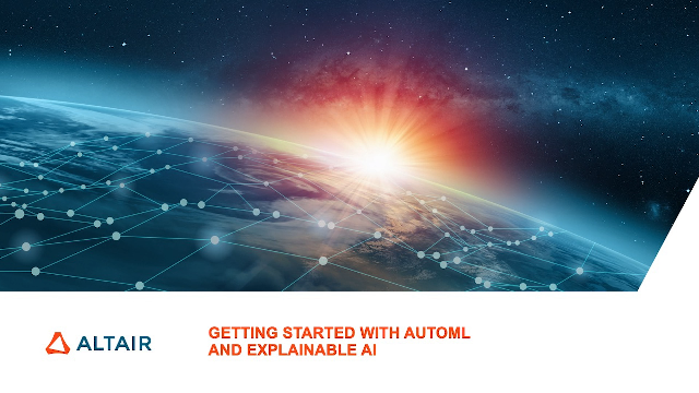 Getting Started with AutoML and Explainable AI