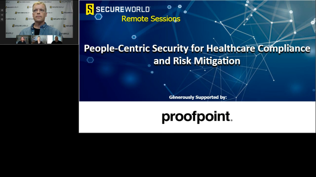 People-Centric Security for Healthcare Compliance & Risk Mitigation