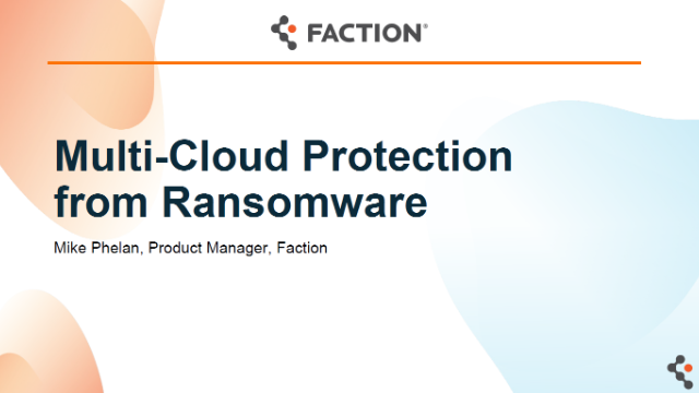Multi-Cloud Protection from Ransomware
