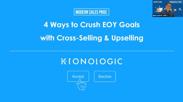 4 Ways to Crush EOY Goals with Cross-Selling & Upselling
