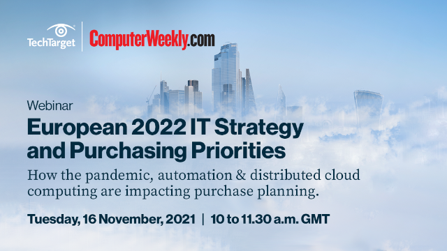 European 2022 IT Strategy and Purchasing Priorities