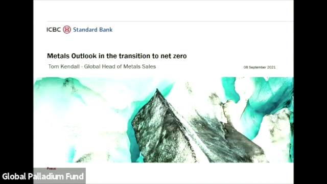 Metals Outlook in the Net Zero Transition