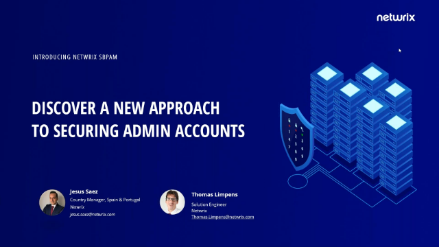Discover a New Approach to Securing Admin Accounts [Spanish]