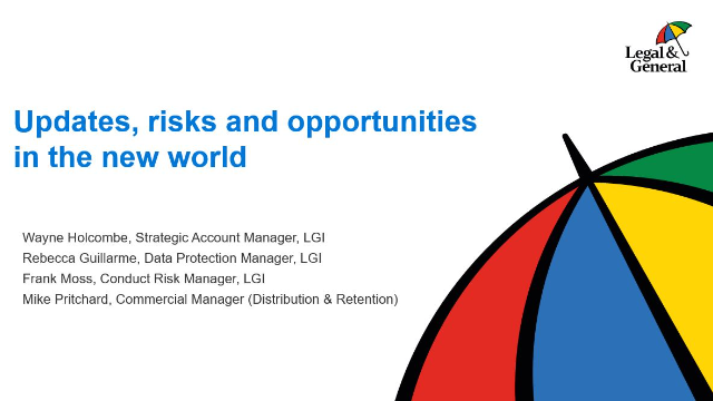 Compliance Directors Session - Updates, risks and opportunities in the new world