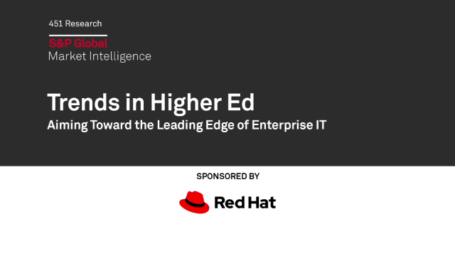 Trends in Higher Ed : Aiming toward the leading edge of enterprise ID